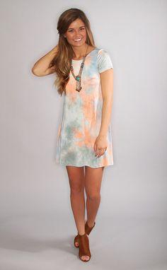 peace love serenity dye dress