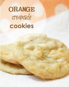 homemade-orange-creamsicle-cookies