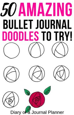 The ultimate list of amazing doodle ideas for your bullet journal. Find beautiful flowers, cute animals, creative travel doodles and […] Bullet Journal Doodles, Bullet Journal Hacks, Doodle Art Journals, Bullet Journal Layout, Bullet Journal Ideas Pages, Bullet Journal Inspiration, Journal Pages, Bullet Journals, Journal List