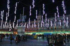 Mercadillo de Navidad 2013 en plaza Mayor de Madrid