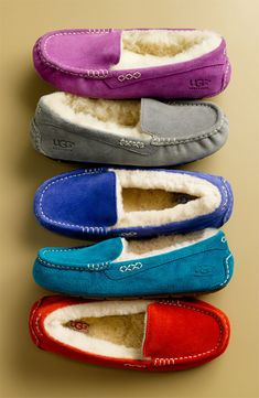 UGG Australia - I need the purple ones, they just look so darn comfy.