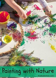 Best nature art activities for kids Ideas