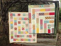 Two Little Banshees: Cot Quilts
