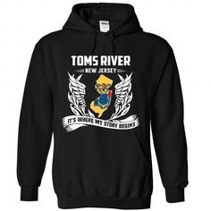 TOMS RIVER - #shirts #mens sweatshirts. ORDER HERE => https://www.sunfrog.com/LifeStyle/TOMS-RIVER-3108-Black-Hoodie.html?id=60505