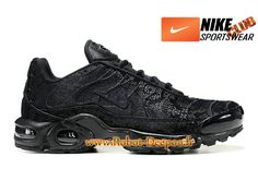 outlet store 4ebf1 183b6 Nike Air Max Tn/Tuned Requin Mesh Chaussures Nike Basket Pas Cher Pour Homme  Noir 604133-106