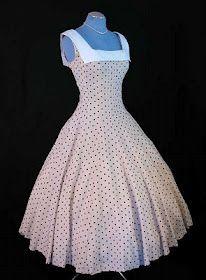Couture Allure Vintage Fashion: Polka Dot Vintage Dresses
