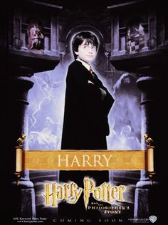 Harry Potter And The Philosopher's Stone promo poster - Harry