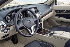 DETROIT AUTO SHOW: Mercedes-Benz Redefines The Benchmark With New E-Class Coupe And Cabriolet