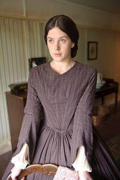 The Suspicions of Mr Whicher_Alexandra Roach_house dress_stripe-1