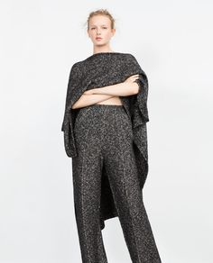 Image 2 of WIDE TROUSERS from Zara