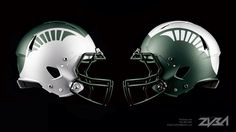 MSU Football Helmet Concept