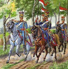 Lancieri polacchi della guardia imperiale francese