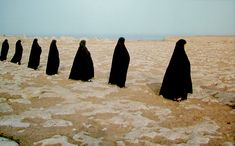 View Rapture series Women in a line by Shirin Neshat on artnet. Browse upcoming and past auction lots by Shirin Neshat. Shirin Neshat, Iran, Religion, Pose, Outdoor Kitchen Design, Foto Art, Photo Look, Art Fair, Islamic Art