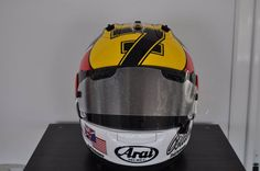 Racing Helmets Garage: Arai RX-7V C.Edwards Goodwood Festival of Speed 2016 by Drudi Performance - painted by DiD Design