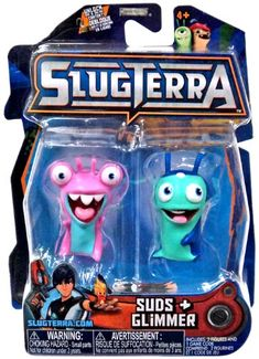 Slugterra SERIES 3 Mini Figure 2-Pack Suds  Glimmer [Includes Code for Exclusive Game Items] Slugterra Toys, Games  Dart Mini Action Figures http://www.amazon.com/dp/B00KC4D7C2/ref=cm_sw_r_pi_dp_ioVNtb0TDC5G3EM2