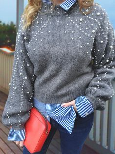 Chrome Boots and Pearl Sweaters – StyleHerSavvy