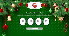Avaa luukku ja voita joka päivä palkintoja! http://saga.adventcalendar.com/
