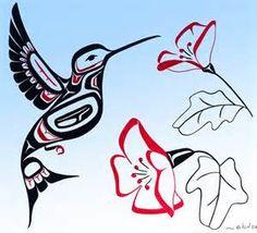 Haida Art Hummingbird.
