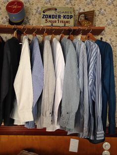 Shirts from #LeeValleyIreland #grandfathershirts #oldfashionshirts #traditionalshirts