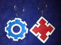 Resultado de imagen de gears of war logo  hama beads