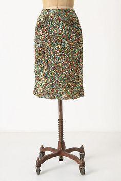 Twinkle Lights Pencil Skirt - StyleSays