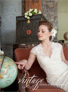 Jessye: vintage travel wedding ideas (yes, inappropriate timing)