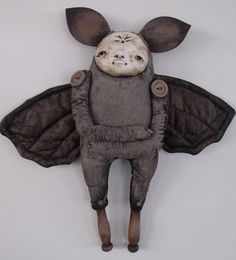 bat art doll