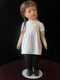 Käthe Kruse Puppe, Stoffkopf   eBay