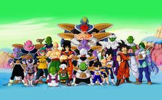Dragon Ball Z Wallpaper - All Character in high resolution