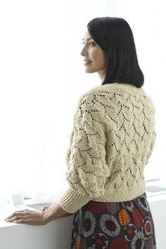 Golden Honey Shrug - Free Knitting Pattern With Website Registration - (lionbrand)