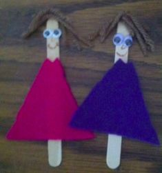 Mary and Martha Bible Craft