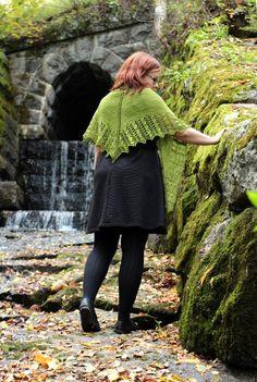 Valancy pattern by Heidi Alander Lace Knitting, Crochet Shawl, Malabrigo Sock, Never Been Loved, Garter Stitch, Shawls And Wraps, Ravelry, Loom, Romantic