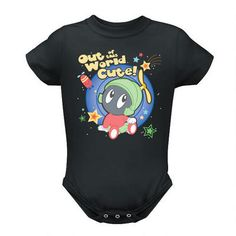 Looney Tunes Out of This World Marvin the Martian Infant Snapsuit | WBshop.com | Warner Bros.