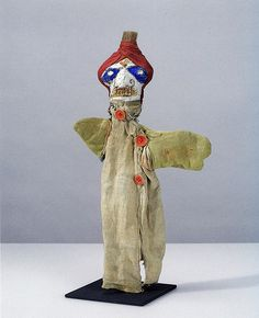 From Old Chum on flickr - Paul Klee hand puppet.