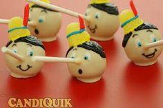 Cackepops de Pinocho! http://pinterest.com/martablasco/boards/  #provestra