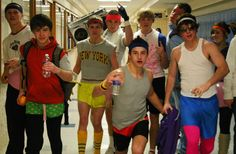 80s workout boys costumes ideas