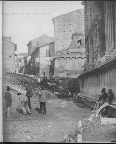 Foro Boario.1890 i bambini giocano alla ruzzica