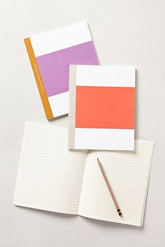 Ballad Stripe Notebook
