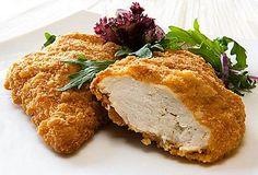 Delicious Breaded Chicken.