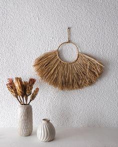 Bohemian Decoration, Wall Basket, Wall Art