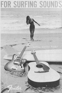 """Fender """"for surfing sound"""""""