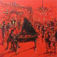 """""""Jazzamoart"""" Exposición de Javier Vázquez Estupiñán. Del 1 de noviembre de 2012 al 30 de noviembre de 2012 en Galería Star"""
