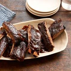 Slow Cooker Country-Style Barbecued Ribs