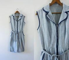 1950s cotton playsuit