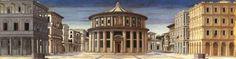 Vista de la ciudad ideal (Piero della Francesca) | Quattrocento