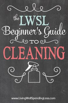 Wondering how to get your whites whiter and your brights brighter, or aren't quite sure how to handle those delicates?  Don't miss Part 7 of the Beginner's Guide to Cleaning for the full scoop on tackling that laundry pile from start to finish, plus a great printable cheat sheet to help you get it done.