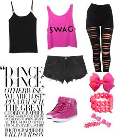 """Dance Style"" by pauwiie ❤ liked on Polyvore"