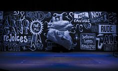 Love this chalk board concept;Creative Church Stage Designs of 2012 - churchrelevance.com