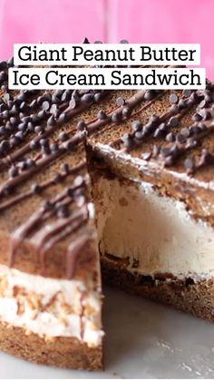 Fun Baking Recipes, Sweet Recipes, Cookie Recipes, Dessert Recipes, Frozen Desserts, Just Desserts, Delicious Desserts, Yummy Food, Comida Diy