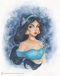 You'll Be Enchanted By This Absolutely Gorgeous Disney Princess Art